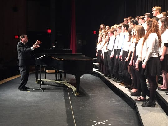 Students at Champlain Valley Union High School perform