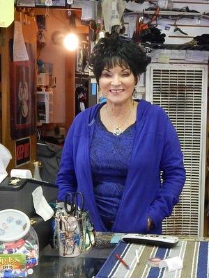 Jodee Damron at her store Alto Ski Shop.