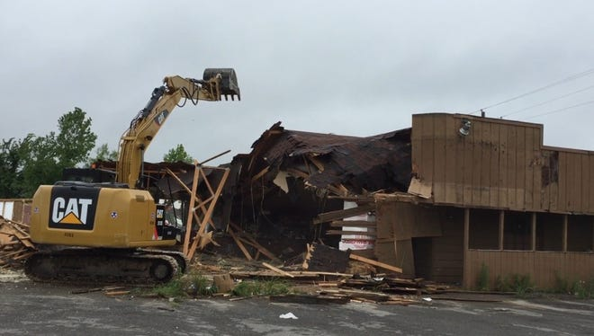 The Sandilly bar on Livestock Road was recently demolished.