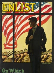 Laura Brey's  'Enlist  — On Which Side of the Window
