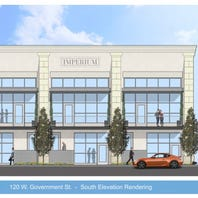 Downtown Pensacola townhomes proposed for west of Palafox Place