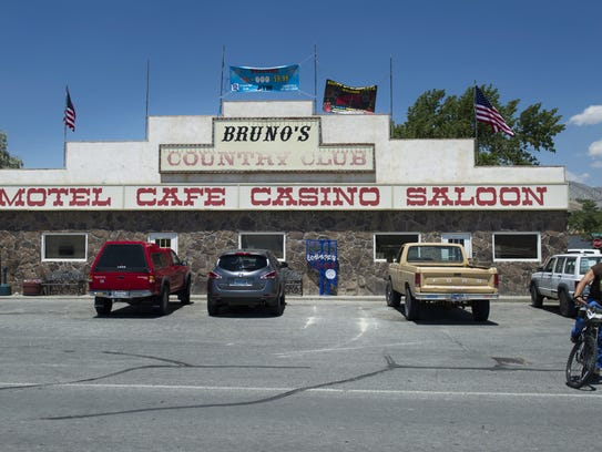 Bruno's in downtown Gerlach, Nev.,  on Thursday, July