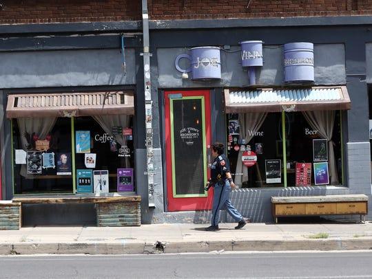 Joe, Vinny & Bronsons Bohemian Cafe at 824 N. Piedras