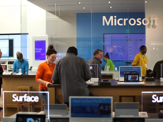 The Microsoft Store at The Somerset Collection in Troy