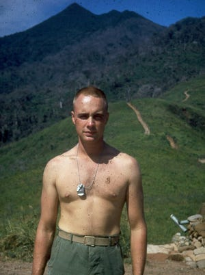December 1966 photo of Lt. John Paul Bobo, who was posthumously awarded the Medal of Honor for heroism in Vietnam in March 1967.