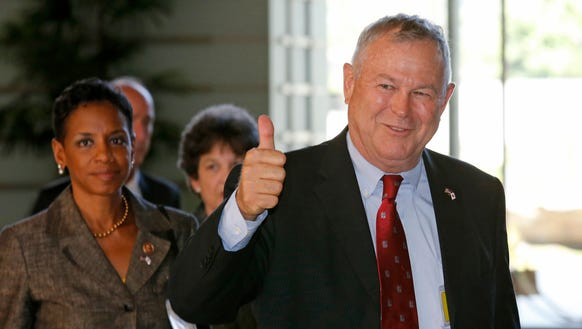 Rep. Dana Rohrabacher, R-Calif., is facing a tough re-election campaign for California's 48th congressional district.