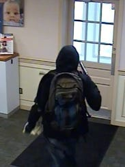 Suspect in the armed PNC Bank robbery in Carroll Valley