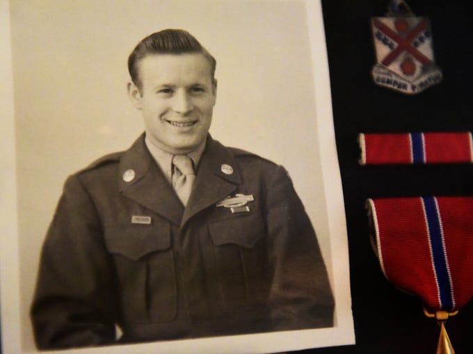 Carl Cooley, 91, of Fremont served in the U.S. Army