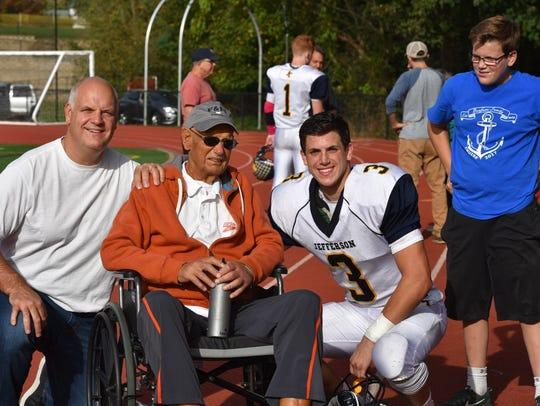 The Benfatti Family: Lou Jr, Lou Sr., and sons, Drew