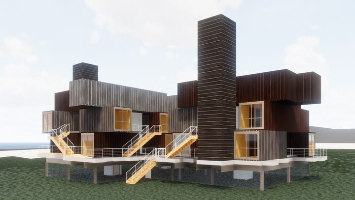 Des Moines agency hopes to build downtown housing for homeless from shipping containers