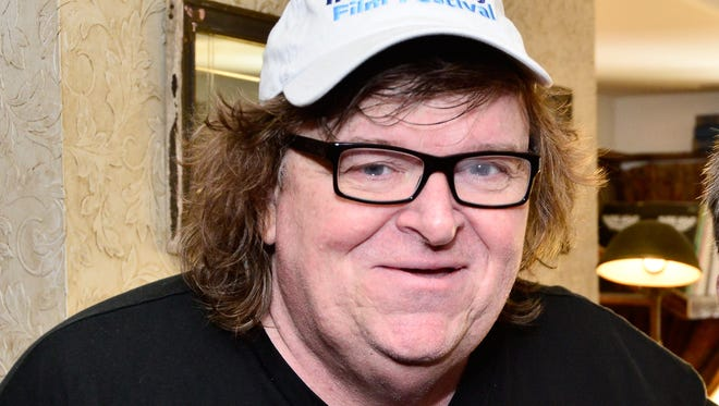 Michael Moore is pictured during the 2014 Toronto International Film Festival at Soho House Toronto on September 8, 2014.