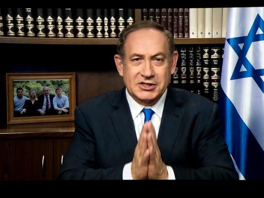 AP US ISRAEL NETANYAHU A USA DC