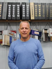 John Griffith, owner of Custom Upholstery, Williamsburg,