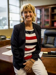 Annette Samec is seen in 2015 after being named chief academic officer for LPSS.