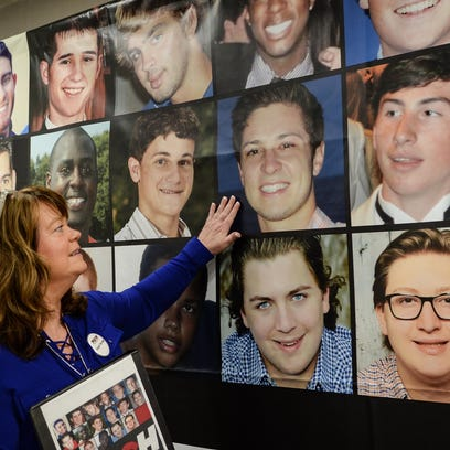 Cindy Hipps of Piedmont, remembers her son Tucker Hipps,
