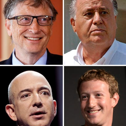 Many of the world's billionaires had this first job in common