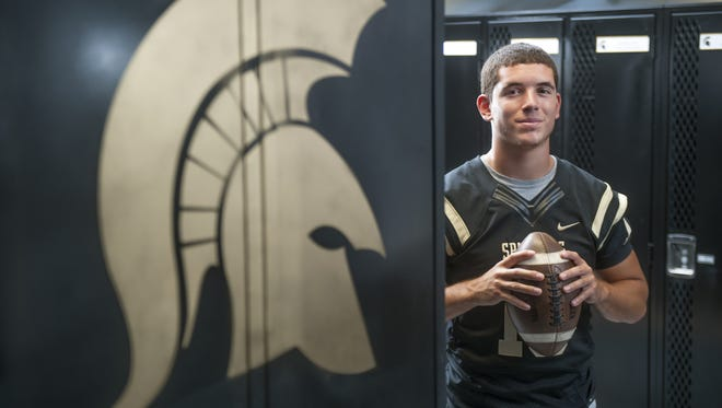 Deptford senior quarterback Riley Giles threw for 2,008 yards last season and hopes for bigger things in 2016.