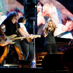 Country singer Brad Paisley performed at Riverbend.