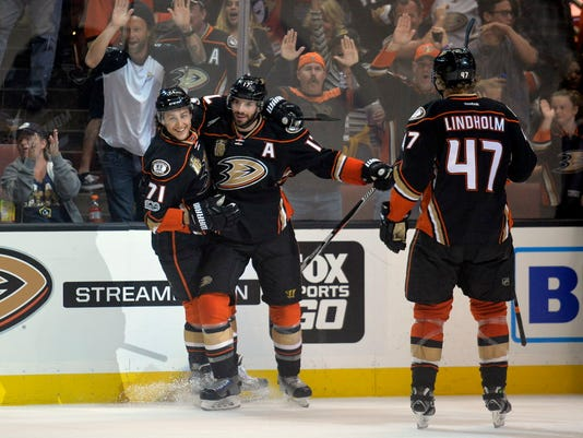 Washington Capitals at Anaheim Ducks