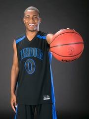 All Arizona 2016 boys basketball player J.J. Rhymes of Shadow Mountain.