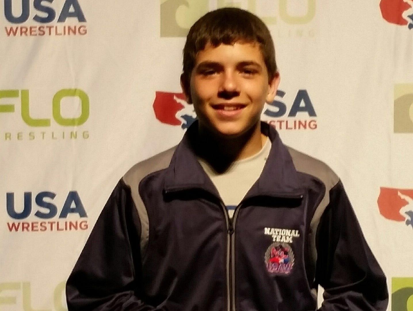 North Henderson rising freshman Josh Blatt placed seventh in the USA Wrestling Cadet Nationals Greco-Roman tournament in Fargo, N.D.