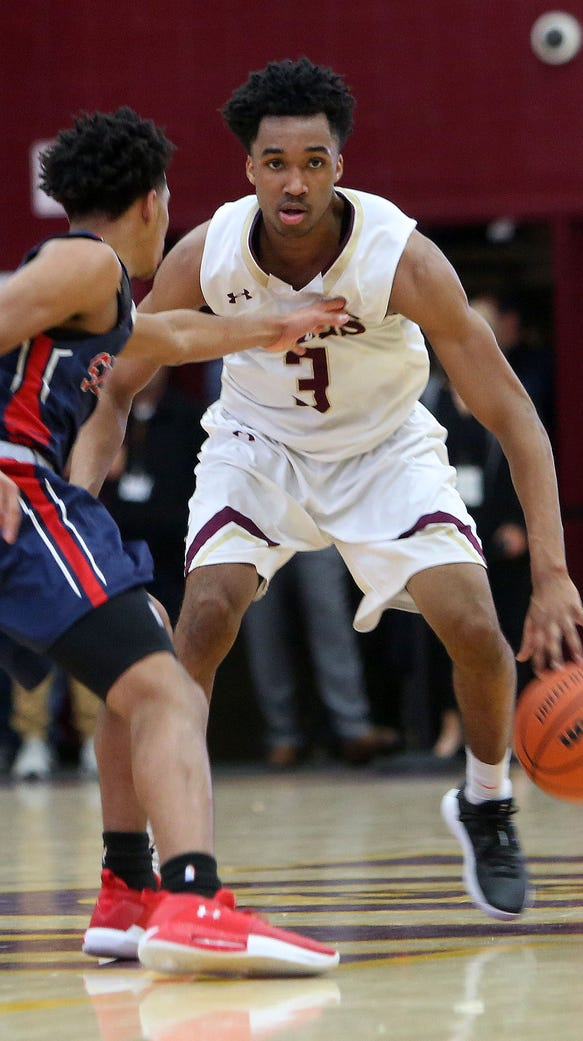 Iona defeated Stepinac 75-67 in boys basketball action