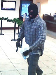 Franklin bank robbery suspect