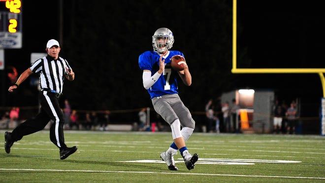 Smoky Mountain quarterback Cole Hooper.