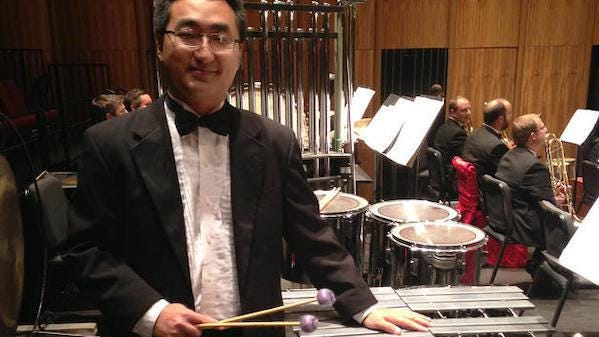 Rob Kistler, orchestra committee chair and principal percussionist for the Akron Symphony Orchestra.