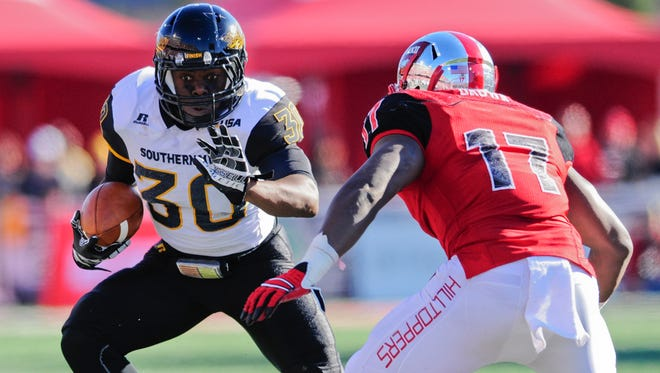 Southern Miss running back Jalen Richard was one of four Golden Eagles who earned 2015 All-Conference USA First Team honors for his performance this season.