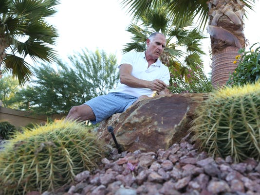 Randy Roberts explains desert landscape benefits