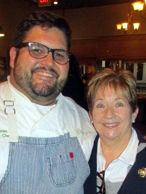 Sweet Grass owner/chef Ryan Trimm and his mother, Linda,