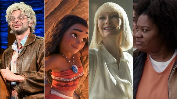 'Oh, Hello on Broadway,' 'Moana,' 'Okja' and 'Orange