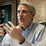 Sen. Rob Portman, R-Ohio, is praised in new radio ads.