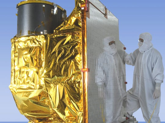Built by Harris, the Advanced Baseline Imager (ABI)