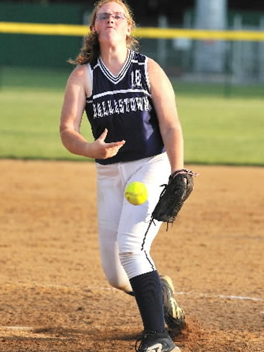 After losing the YAIAA Division I softball title to Central York last season, Kelsey Collins and the Wildcats got past their rivals in the District 3 tournament. (DAILY RECORD/SUNDAY NEWS -- FILE)