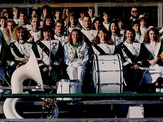 HCHS Band 1991 group photo.