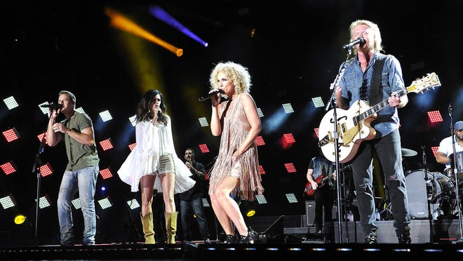 """Little Big Town is among the acts scheduled to perform on Tuesday's """"Opry"""" show."""
