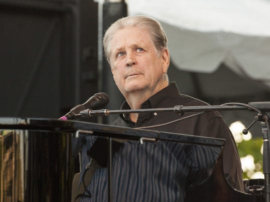 """Brian Wilson performs the classic Beach Boys album """"Pet Sounds"""" at the 2016 Pitchfork Music Festival on July 16 in Chicago."""