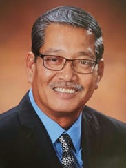 Official portrait of Senator Joe S. San Agustin