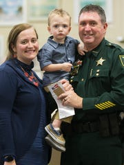 Ashley Lathrop and her husband Lee County Sheriff's