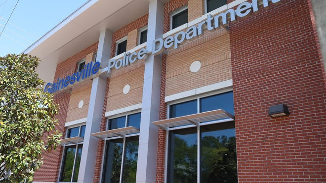 The Gainesville Police Department, in Gainesville, Fla. March 19, 2020.