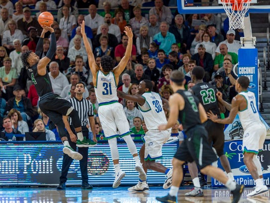FGCU did a much better job of contesting shots during