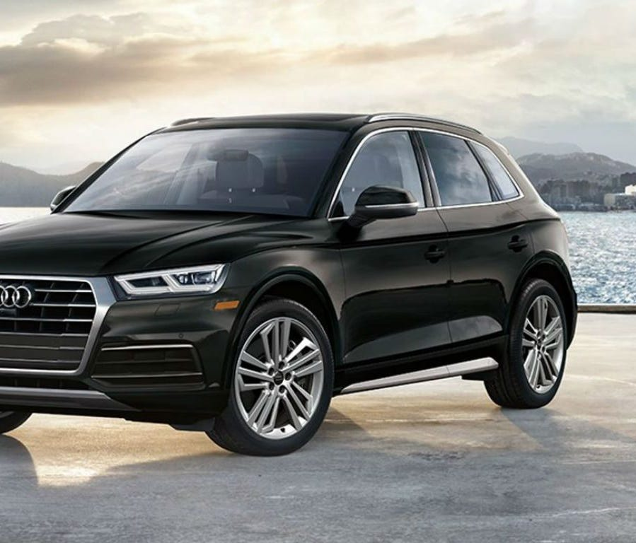 Audi Q5  Avg. days on lot: 37.1  2017 sales: 57,640  2016 sales: 49,550  Starting at: $41,500    Audi rolled out the first member of the second generation Q5 in 2017 and it was an immediate success. U.S. News & World Report named the 2018 Q5 the best L