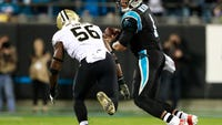 The Saints defense held Cam Newton to 131 yards passing in 12-9 win over Panthers.