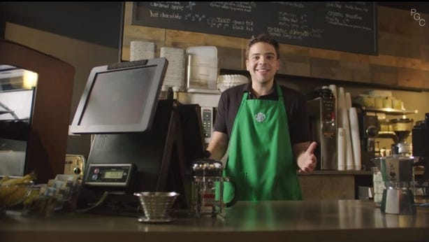 """Paul Gale in his YouTube video """"Why Starbucks Spells Your Name Wrong."""""""