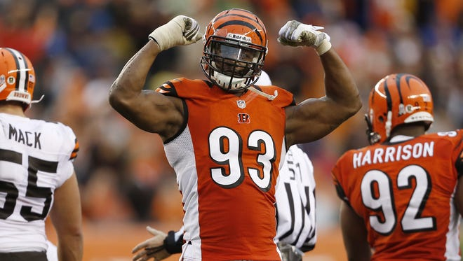 Former Bengal Michael Johnson is one of the few options that remain via free agency to bolster the Bengals pass rush.