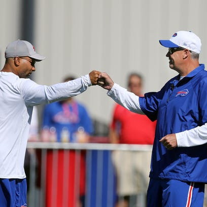 Photos: Bills training camp begins at Fisher