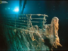 Previously classified story of Titanic's discovery comes to life