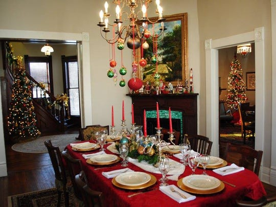 A scene from a house featured on a previous LANA Holiday Home Tour.